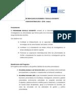 Ped Augm Convocatoria 2015 2016 - Anexa