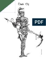 Alliance LARP - National Dark Elf