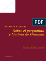 Sobre el pergamino y las láminas de Granada