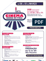 1º Festival Estudantil de Cinema de Barra do Piraí