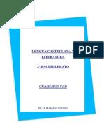 Cuaderno Pau 2º Bachillerato (Edición 2013-14)