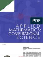 Applied Math - Computational Science