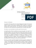 lettre président et DG promos 2010