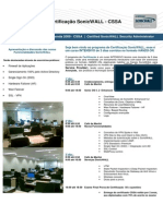 SonicWALL Programa de CSSA 2009