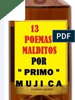 13 POEMAS MALDITOS -Primo Mujica