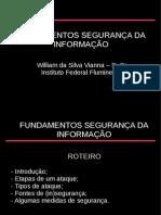 Fundamentos de segurança da informação - willian