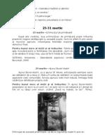 Material Etnografic Pentru Perioada 23-31 Martie (Iulia Caraiman)