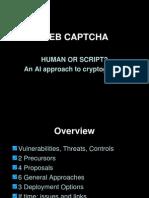 Web Captcha