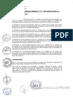 Directiva Supervision de Obras
