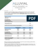 Alluvial Capital Management Q2 2015 Client Letter 7.14.2015