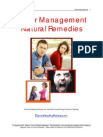 Anger Natural Remedies