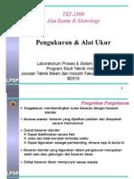 Kuliah Alat Bantu & Metrologi 04-05