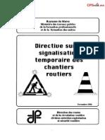 Signalistation Temporaire Chantier