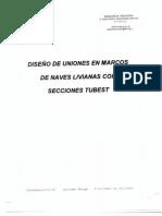 Diseño de Uniones Estructuras Livianas (Tubest)