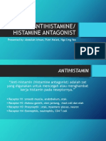 Antihistamin, Histamine Agonist