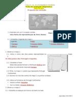 Correção Ficha Diagnstica HGP 5º ano