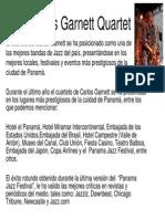 Carlos Garnett Quartet