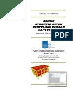 Desain Struktur Beton Bertulang Dengan SAP2000
