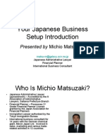 Your Japanese Business Setup Introduction