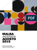 Agenda Malba 2015 08