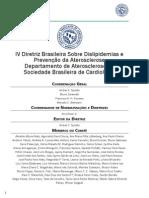 Diretriz Brasileira Sobre Dislipidemias e