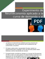 Experimento de Neuroeconomía Aplicado a La Curva de Demanda y El Comportamiento Del Consumidor