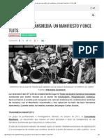 Transmedia Manifest ESPAÑOL