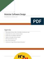 Modular Design Modi Fed