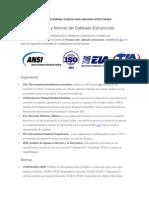 Resumen de Normas Tecnicas Para Cableado Estructurado