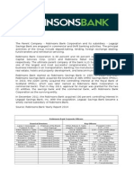Robinsons Bank Corporation Profile