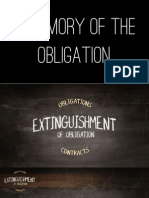 Oblicon Extinguishment of Obligation