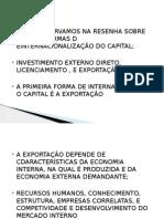 Aula 10 - Negocios Internacionais - Exportação e Etapas