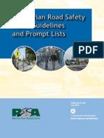 Pedestrians Road Safety Audit Guidelines