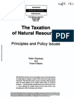 Taxtion of Natural Resourcs (Principles and Policy Issues) by R. Boadway and Flatters(2).pdf
