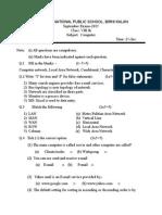 8th Computer exam