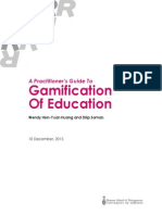 Gamification in Education Guide - December 2013