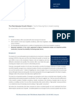 White Paper_The Risk-Adjusted Growth Model_May 2015