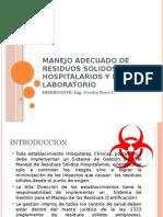 MANEJO DELA GESTION DE LOS RESIDUOS SOLIDOS HOSPITALARIOS.pptx