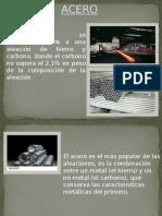 El acero como tecnologia de material.