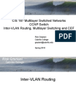 Cis187 Switch 4 Intervlanrouting Mls Cef