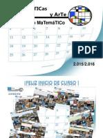 Calendario MaTes+TICs y Arte 2.015-2.016