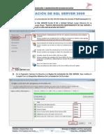 Parte - 00 - Instalación SQL Server 2008