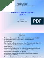 Modulo Sobre Metodos Espectrofotometricos - Analisis Farmaceuticos II