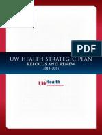 UW Health Strategic Plan