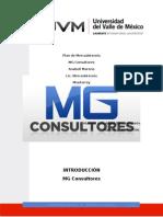 Plan de Mercadotecnia - MG Consultores