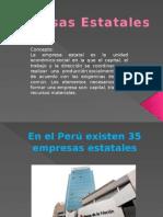 Empresas Estatales