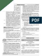 Fe de erratas del Decreto Legislativo 1192