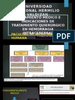 Tto e Indicacion Quirurgica de Hemorragia intracerebral
