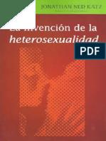 La Invencion de La Heterosexualidad