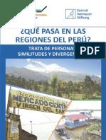 Que Pasa en Las Regiones Del Perú - Trata de Personas